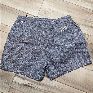 Hartford Swim Trunks Grey Medium